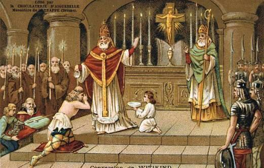 battesimo di witkind