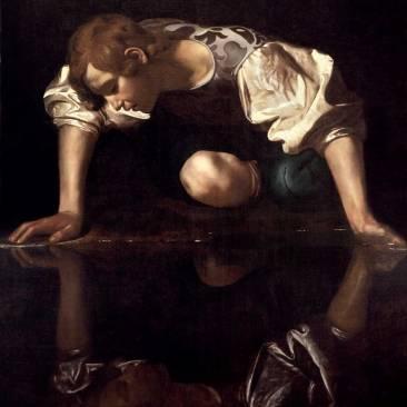 Caravaggio-Narciso-